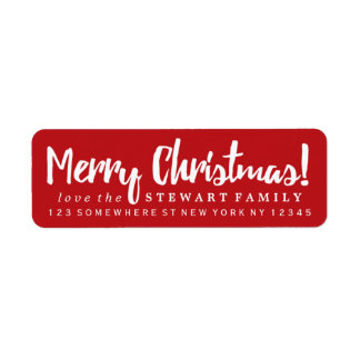 Merry Christmas Red Label