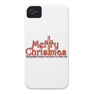 Merry Christmas! Remember! iPhone 4 Case