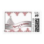 Merry Christmas Ribbon postage