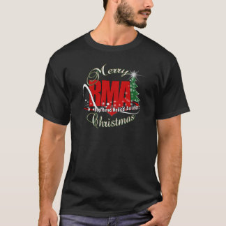 MERRY CHRISTMAS RMA REGISTERED MEDICAL ASSISTANT T-Shirt