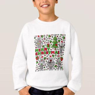 Merry Christmas Robot Sweatshirt