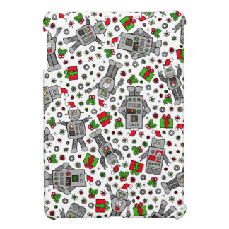 Merry Christmas Robots Case For The iPad Mini