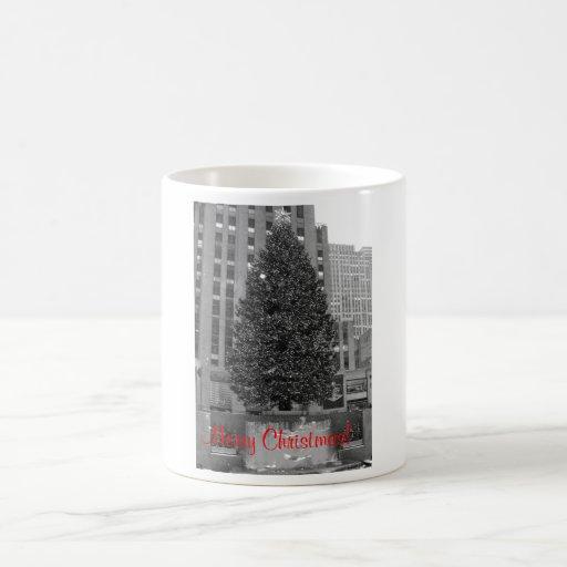 Merry Christmas! Rockefeller center Coffee Mug