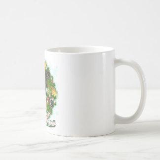 Merry Christmas Rottweiler Coffee Mug