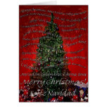 Merry Christmas Round the World Greeting Card