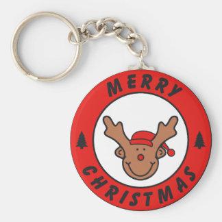 Merry Christmas Rudolf annuitant with tree