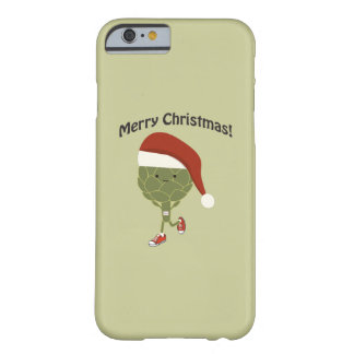 Merry Christmas! Running Artichoke Barely There iPhone 6 Case