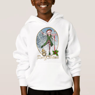 Merry Christmas Sadie Elf Kid Shirt