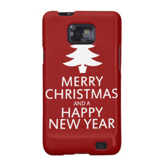 Merry Christmas Samsung Galaxy Cases