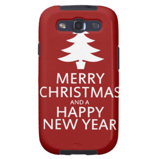 Merry Christmas Samsung Galaxy SIII Cover