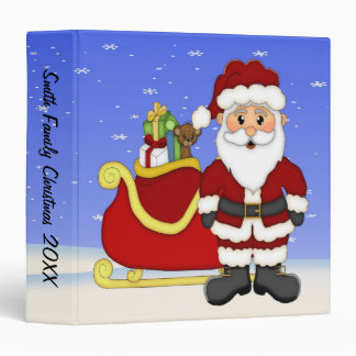 "Merry Christmas Santa 1.5"" Binder"