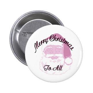 Merry Christmas santa Buttons