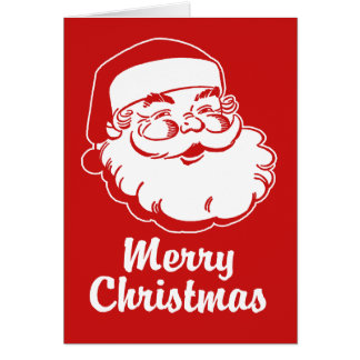 Merry Christmas Santa Cards