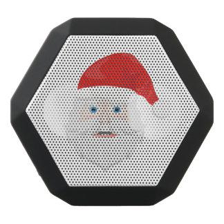 Merry Christmas Santa Claus Black Bluetooth Speaker
