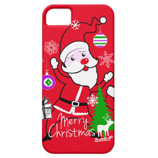 Merry Christmas Santa Claus by FRA Cisco Evans ™ iPhone 5 Covers