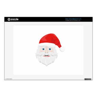 Merry Christmas Santa Claus Decal For Acer Chromebook