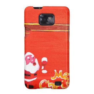 Merry Christmas Santa Claus Galaxy S2 Case