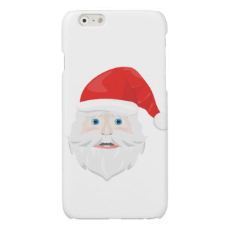 Merry Christmas Santa Claus Glossy iPhone 6 Case