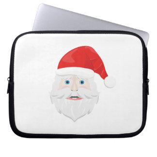 Merry Christmas Santa Claus Laptop Computer Sleeves
