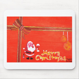 Merry Christmas Santa Claus Mouse Pad