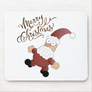 Merry Christmas Santa Claus Mouse Pad
