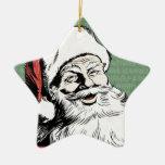 Merry Christmas Santa Claus! Christmas Tree Ornaments