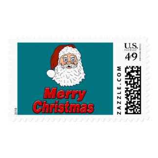Merry Christmas Santa Claus Postage
