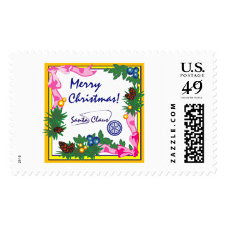 Merry Christmas Santa Claus Stamps