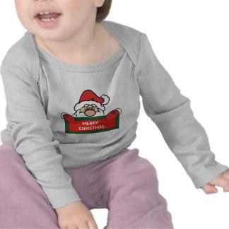 Merry Christmas Santa Claus Tee Shirt