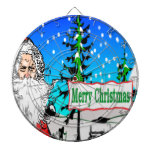 Merry Christmas Santa Dart Boards