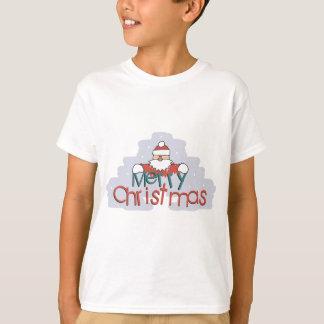 Merry Christmas Santa Doodle T-Shirt