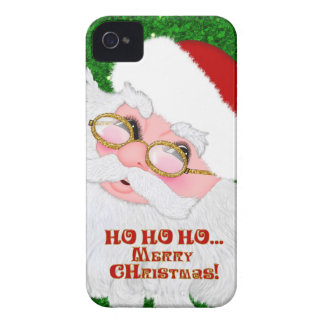 Merry Christmas Santa Face- iPhone 4/4s Case