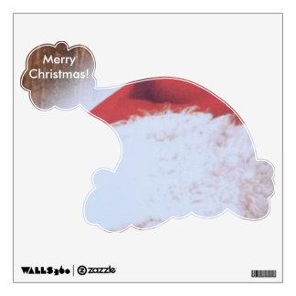 Merry Christmas Santa Hat Wall Sticker
