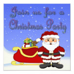 Merry Christmas Santa Invitations