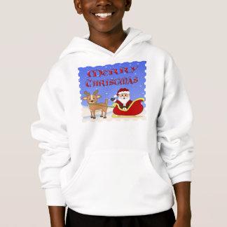 Merry Christmas Santa Kid's Hoodie