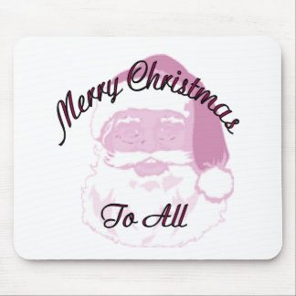 Merry Christmas santa Mouse Pad