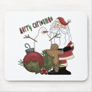 Merry Christmas Santa Mouse Pads