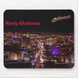 Merry Christmas Santa & Reindeers Las Vegas Mousep Mouse Mats
