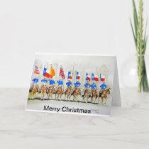 Merry Christmas Santa Rosa Palomino Club Holiday Card