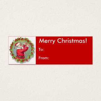 Merry Christmas Santa Tag