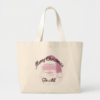 Merry Christmas santa Tote Bags