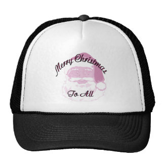 Merry Christmas santa Trucker Hats