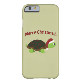 Merry Christmas! Santa Turtle Barely There iPhone 6 Case