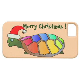"""MERRY CHRISTMAS"" SANTA TURTLE iPhone SE/5/5s CASE"