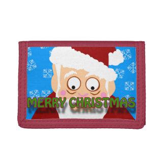 Merry Christmas Santa Wallet