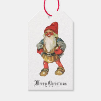 Merry Christmas Santa's Elf Gift Tags