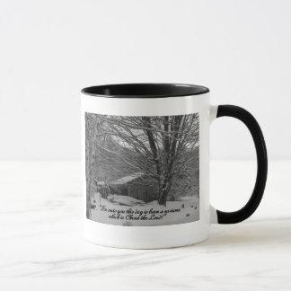 Merry Christmas,  scripture greeting Mug