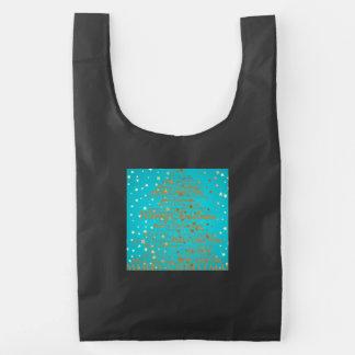 Merry Christmas Season Reusable Bag