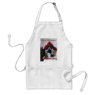 Merry Christmas, Seasons blessing Adult Apron
