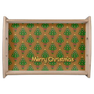 Merry Christmas Serving Tray